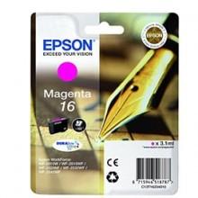 Cartuccia A Pigmenti Magenta Epson Durabrite Ultra, Serie 16/Penna E Cruciverba