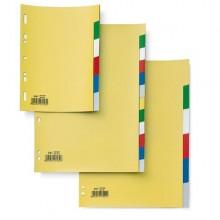Separatore 12 Tasti Colorati 21X29,7 Ppl Record Sa412N Sei