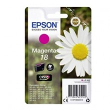 Cartuccia Magenta Epson Claria Home Serie 18/Margherita In Conf. Blister Rs