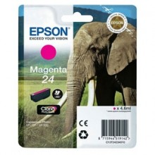 Cartuccia Magenta Claria Photo Hd Serie 24 Elefante