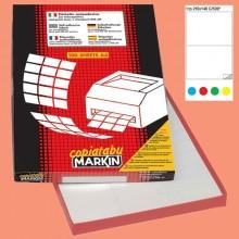 Etichetta Adesiva C/509 Giallo 100Fg A4 210X148Mm (2Et/Fg) Markin