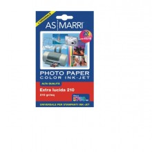 Carta Inkjet A6 (10X15Cm) 210Gr 20Fg Photo Lucida 8869 As Marri