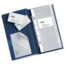 Portabiglietti Da Visita Visita Mc 30 Blu 16.5X28Cm