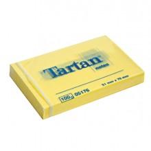 BLOCCO TARTAN 5176 GIALLO 51X76MM 100FG 63GR (conf. 12 )