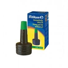 Inchiostro Verde 4K S/Olio 28Ml X Cuscinetti Pelikan
