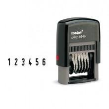 Timbro Printy Eco 4846 Numeratore 6Cifre 4Mm Autoinchiostrante Trodat