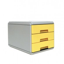 Mini Cassettiera Keep Colour Pastel Giallo Arda