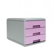 Mini Cassettiera Keep Colour Pastel Lilla Arda