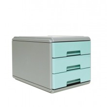 Mini Cassettiera Keep Colour Pastel Azzurro Arda