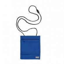 Portadocumenti da collo XL Blu Basic (conf. 3 )