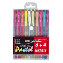 Astuccio 10 Roller Koh-I-Gel Colori Pastel