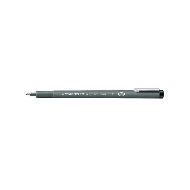 Pennarello Pigment Liner 308 Nero 0,7Mm Staedtler (conf.10)
