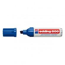 Marcatore Edding 500 Blu P.Scalpello