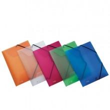 Cartella 3L C/elastico colori ass. LUMINA 22X30 D0-3 Favorit (conf. 20 )