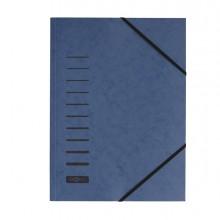 Cartellina Blu Con Elastico In Cartoncino A4 Pagna
