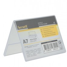 Display A V 7,8X10,6X6,7Cm (A7) Securit