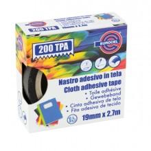 Nastro Adesivo Telato Tpa Bianco 200 19Mmx2,7Mt Eurocel