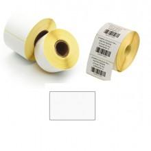 5.000 Etichette Trasf. Termico F.To 50X30Mm - 2 Piste - Printex
