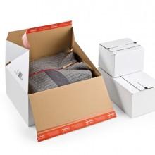 Scatola per spedizione E-Commerce 38,9x32,4x16cm Bianco (conf. 10 )