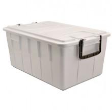 Contenitore Con Coperchio 40Lt Bianco Foodbox
