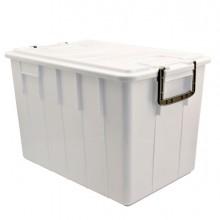 Contenitore Con Coperchio 60Lt Bianco Foodbox