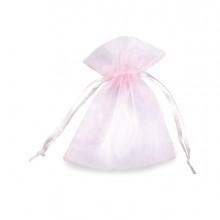 20 Sacchetti organza Milly 8,5x10cm rosa