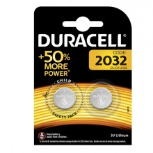 BLISTER 2 PILE LITIO DURACELL 3V (DL2032)