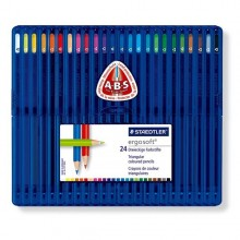 Astuccio 24 Matite Colorate Ergo Soft Staedtler