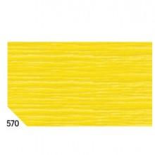 10Rt Carta Crespa Giallo 570 (50X250Cm) Gr.60 Sadoch