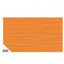 10Rt Carta Crespa Arancione 600 (50X250Cm) Gr.60 Sadoch