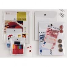 Busta Con Bottone Press 4E 12X15,5Cm