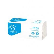 Pacco 143 asciugamani piegati a Z goffrato onda+ Ecolabel Papernet (conf. 20 )