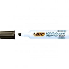 Pennarello VELLEDA 1791 punta scalpello whiteboard nero BIC® (conf. 12 )