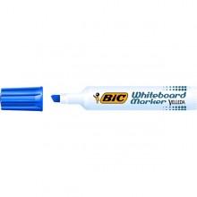 Pennarello VELLEDA 1791 punta scalpello whiteboard blu BIC® (conf. 12 )