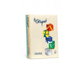 Carta Lecirque A4 80Gr 500Fg Mix 5 Colori Pastello Favini