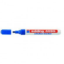 Marcatore Edding 4095 Punta Conica Gesso Liquido Blu