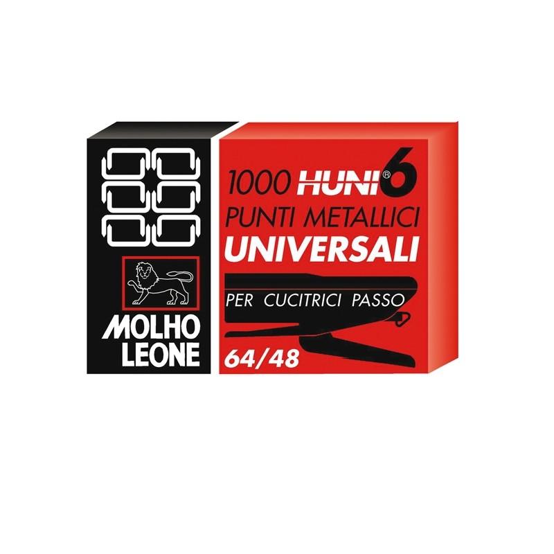 SCATOLA 1000 PUNTI UNIVERSALI 6/4 LEONE (conf. 10 )