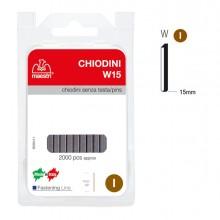Chiodini S/Testa W15 In Blister Da 2000 C. Ro-Ma