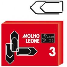 SCATOLA 100 FERMAGLI N.3 MM29 ZINCATI LEONE (conf. 10 )