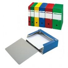 Scatola Archivio Spazio 80 25X35Cm Dorso 8Cm Blu Sei Rota