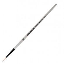 Pennello sintetico Graduate Extra Fine n.10/0 manico corto Daler Rowney (conf.6)