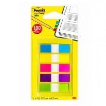 Miniset 100 Post-It Index 683-5Cbeu Formato Mini