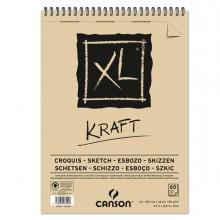 Album spiralato lato corto XL KRAFT A3 60 fg. 90 gr. Canson (conf.5)