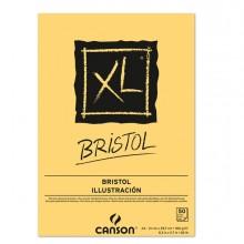 Blocco collato lato corto XL BRISTOL A4 50 fg. 180 gr. Canson (conf.5)