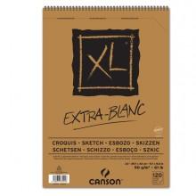 Album spiralato lato corto XL EXTRA WHITE A3 120 fg. 90 gr Canson (conf.5)