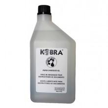Olio per distruggidocumenti - flacone 1lt - Kobra (conf.24)