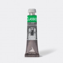 Colore a olio extrafine 20ml verde permanente chiaro Maimeri (conf.3)