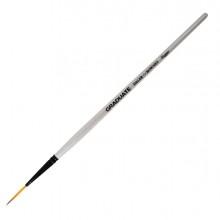 Pennello sintetico Graduate Punta lunga n.2 Manico corto Daler Rowney (conf.6)