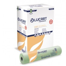 Lenzuolino medico in rotolo 59cm x 80mt Verde Easy 80 Green Lucart
