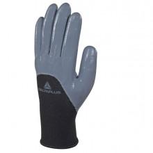 Guanto in maglia di poliestere VE715gr Tg.10 col. grigio/nero
